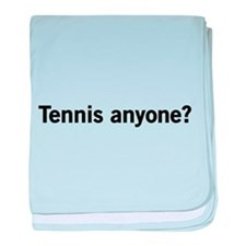Tennis anyone? baby blanket