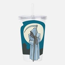 grim-reaper.png Acrylic Double-wall Tumbler