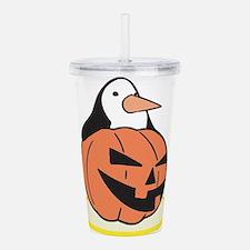 pumpkin,penguin.png Acrylic Double-wall Tumbler