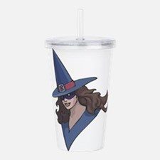 witch.png Acrylic Double-wall Tumbler