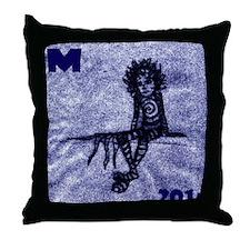 CHAOS BEATEN Throw Pillow