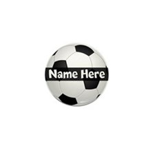 Personalized Soccer Ball Mini Button (100 Pack)