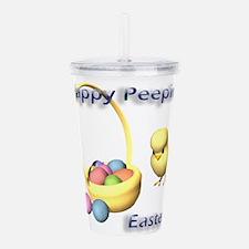 happy-peepin-easter.png Acrylic Double-wall Tumble
