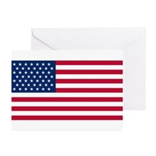 49 Star US Flag Greeting Cards (Pk of 10)