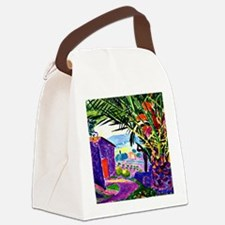 The Sheltering Palm Canvas Lunch Bag