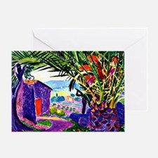 The Sheltering Palm Greeting Card