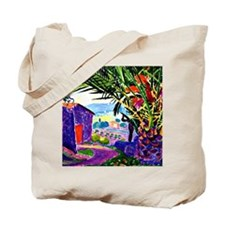 The Sheltering Palm Tote Bag