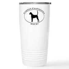 ENGLISH FOXHOUNDS RULE Travel Mug