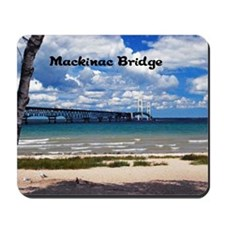 Mackinac Bridge Mousepad