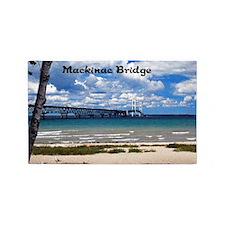 Mackinac Bridge 3'x5' Area Rug