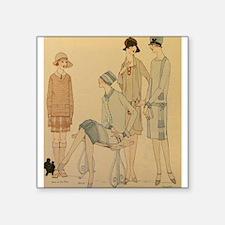 1920s Fall Fashion Sticker