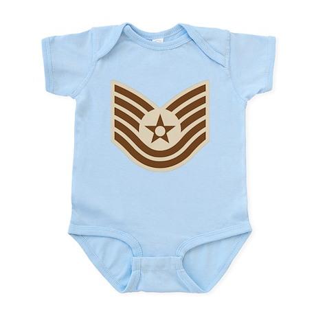 Air Force Tech Sgt Infant Bodysuit
