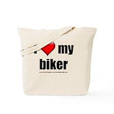Cute I heart my bike Tote Bag
