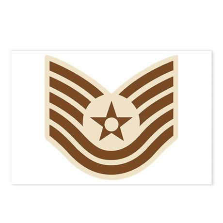 Air Force Tech Sgt Postcards (Package of 8)