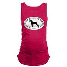 GERMAN WIREHAIRED POINTER Maternity Tank Top