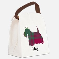 Terrier - Hay Canvas Lunch Bag