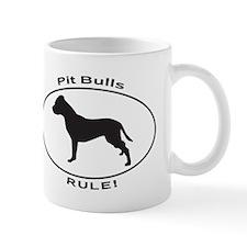 PIT BULLS RULE Mugs