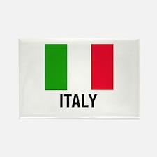 Italian Flag Text of Italy Magnets