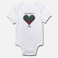 Heart - Hay Infant Bodysuit
