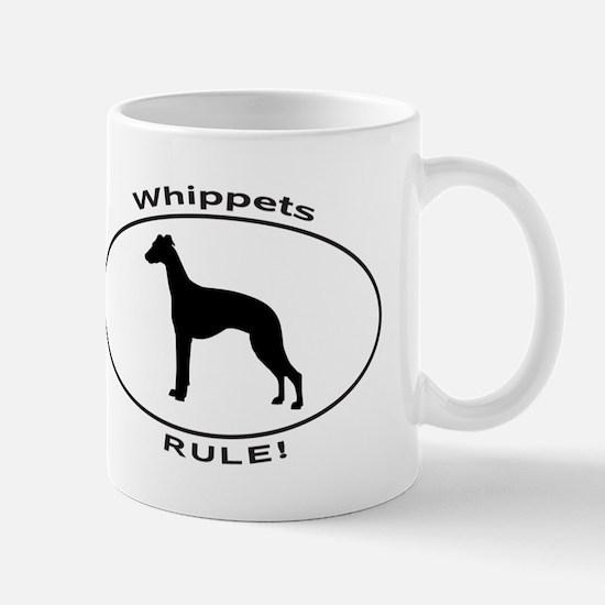 WHIPPETS RULE Mugs