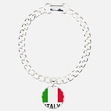Cute Italy Charm Bracelet, One Charm