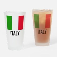 Cute Flags Drinking Glass