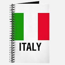 Unique Italian flag Journal