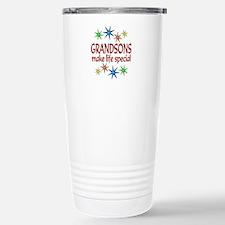 Special Grandson Stainless Steel Travel Mug