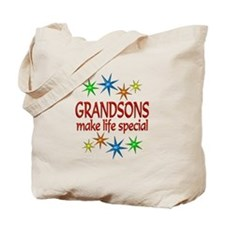 Special Grandson Tote Bag