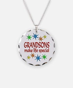 Special Grandson Necklace