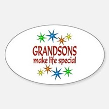 Special Grandson Decal