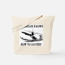 Cute Proud navy girlfriend Tote Bag