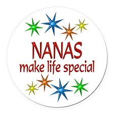 Special Nana Round Car Magnet