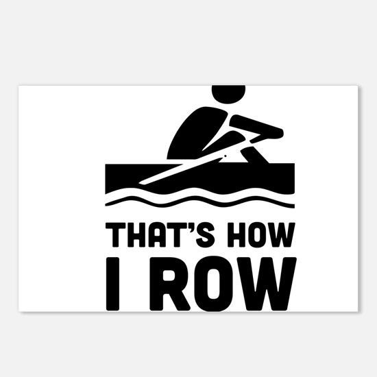 That's how I row Postcards (Package of 8)