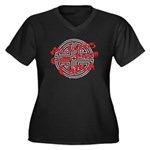 All Goods Come From China Women's Plus Size V-Neck