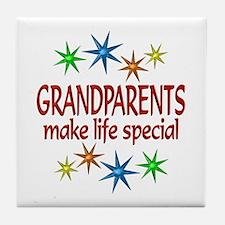 Special Grandparents Tile Coaster
