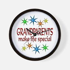 Special Grandparents Wall Clock