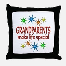 Special Grandparents Throw Pillow