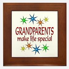 Special Grandparents Framed Tile