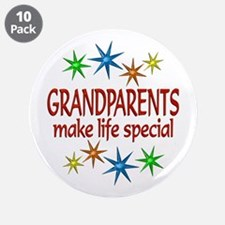 """Special Grandparents 3.5"""" Button (10 pack)"""