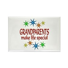 Special Grandparents Rectangle Magnet