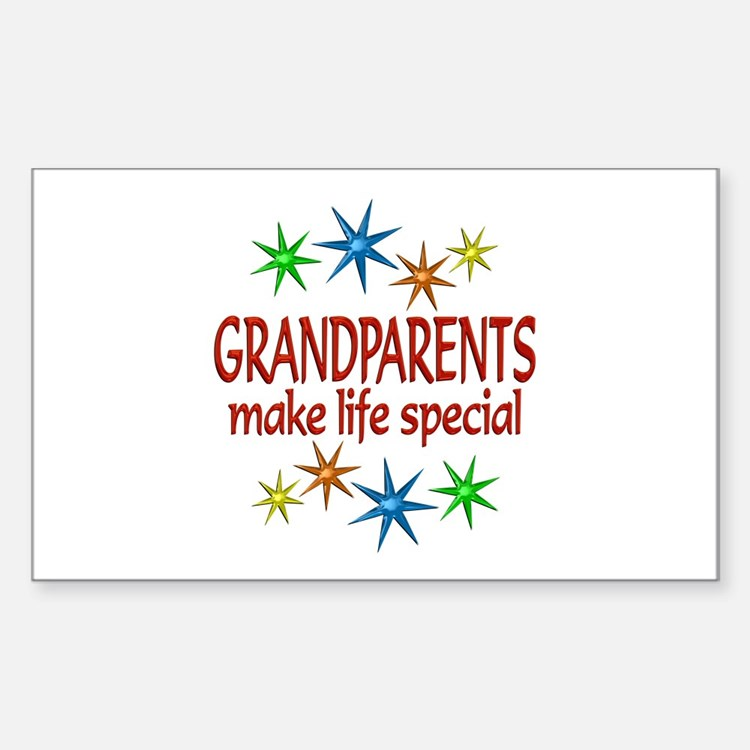 Special Grandparents Decal