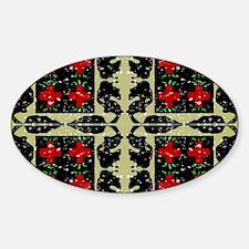 Cute Immanuel Sticker (Oval)