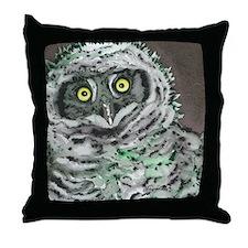 Oupor Owl Throw Pillow
