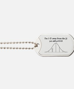 Standard Deviation from the Mean Dog Tags