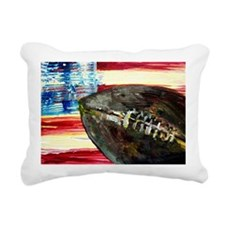 Cute Vintage football Rectangular Canvas Pillow