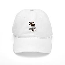 Maine Moose Baseball Cap