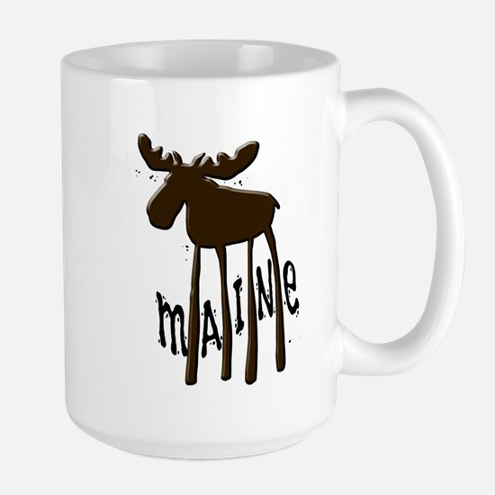 Maine Moose Large Mug