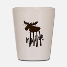 Maine Moose Shot Glass