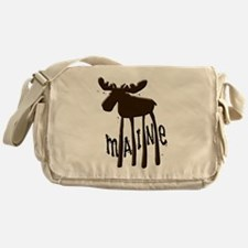 Maine Moose Messenger Bag
